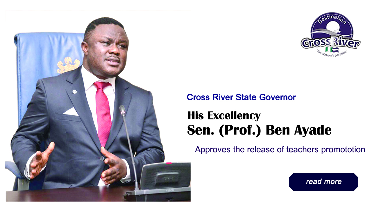 Sen. (Prof.) Ben Ayade approves the release of teachers promotion