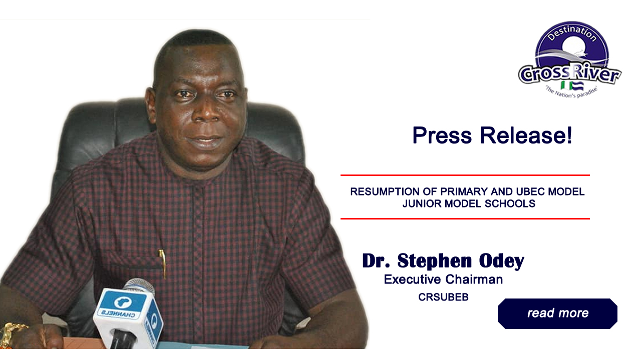 Resumption of primary and UBEC junior secondary schools